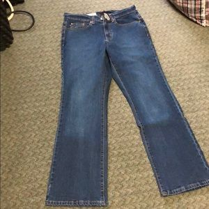 Polo jeans company low rise bootcut jeans size 6